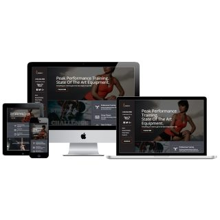 Athletic Website by Rainbow Wordpress in Marion Iowa