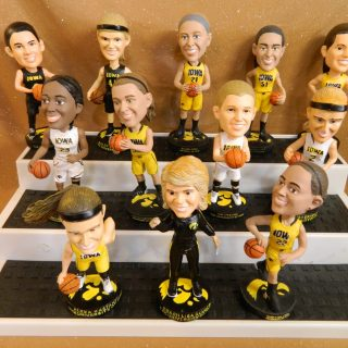 University of Iowa Women's Basketball Players include Theairra Taylor, Melissa Dixon, Bethany Doolittle, Samantha Logic, Kathryn Reynolds, Kali Peschel, Nicole Smith, Claire Till, Ally Disterhoft, Alexa Kastanek, Hailey Schneden, and Lisa Bluder.