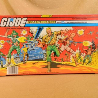 GI Joe 1984 Collectors Case
