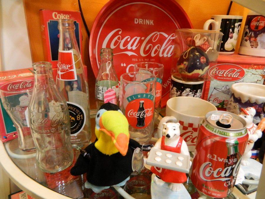 Coca Cola Memorabilia Marion Iowa