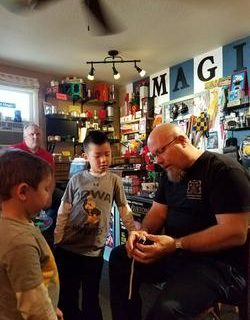 Magic Lessons from Tim Stolba at Iowa Magic Shop