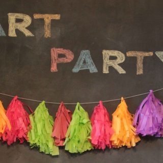 Kids Art Birthday Party