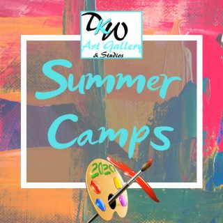 Art Summer Camps in Marion, Iowa for kids ages 4 - 18 at DKW Art Gallery & Studios