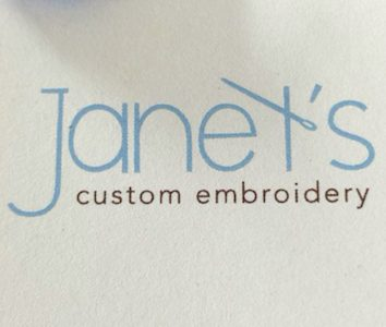 Janet's Custom Embroidery