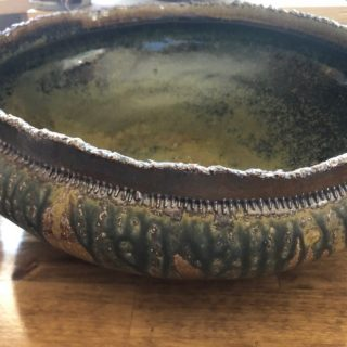 Clay Bowl by Bill Ball