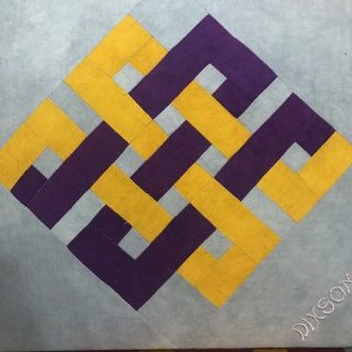 Celtic Knots in College Colors by Don Dixson