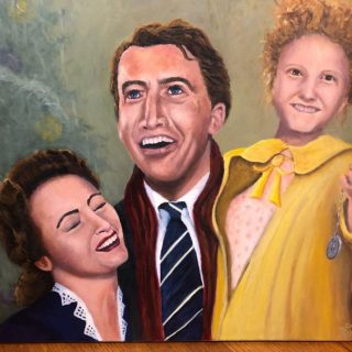 Wonderful Life Oil Painting by Chris Robbins